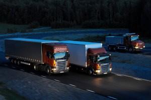 Дезинфекция грузовых машин